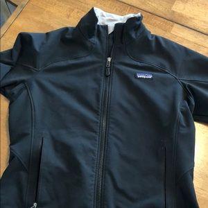 Black - Patagonia - hard shell jacket